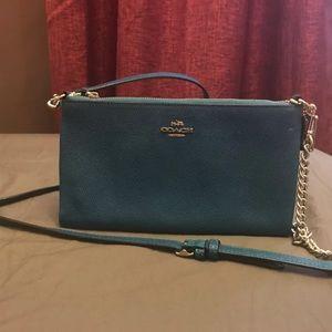 Detachable crossbody bag  / wallet coach
